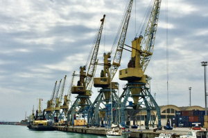 A sea port image for Learning Cities International Pty Ltd
