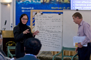 A business seminar in the Middle East by Learning Cities International Pty Ltd.